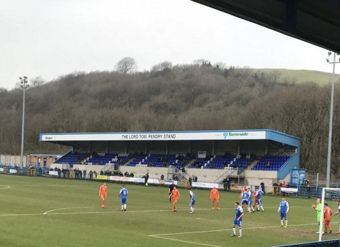 Cartman hat-trick fires Farsley Celtic's play-off push