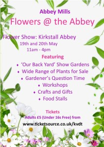 kirkstall abbey flower show