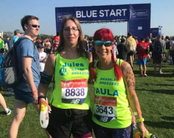 bramley breezers london marathon