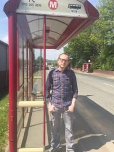 cllr matt gibson number 42 bus