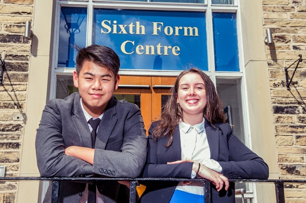 Pudsey school reveals new head boy and girl