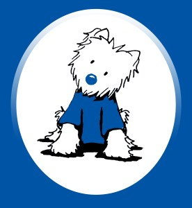Westie West Leeds Dispatch mascot