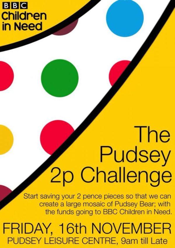 pudsey 2p children in need challenge