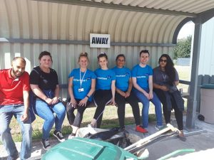 west leeds rufc volunteers clean up