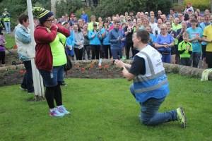 bramley parkrun marriage proposal