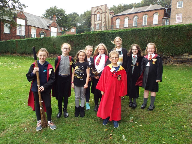 Magic Harry Potter day casts spell over Fulneck School pupils