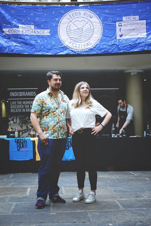 Leeds Rum Festival Founders Dan Crowther and Sam Fish