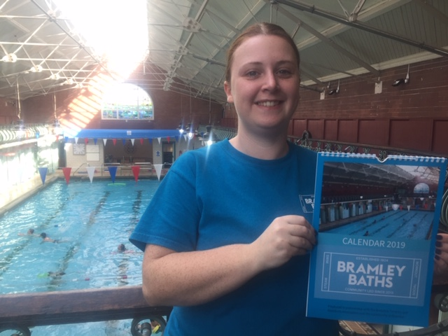 Bramley Baths launches 2019 calendar with community photos