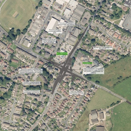 leeds bradford airport junction junction improvements