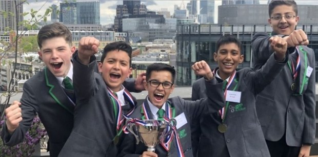 Armley: Dixons Unity Academy scoop top national business prize