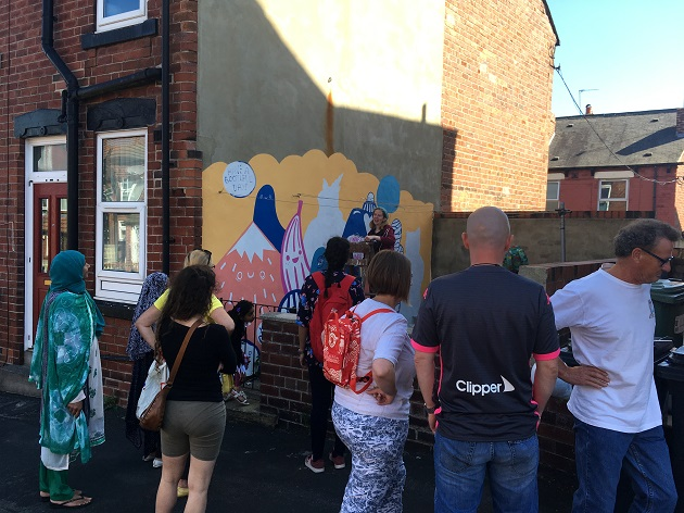 Armley gets arty with new murals