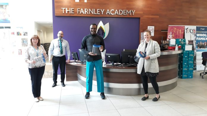 West Leeds latest: Farnley Academy masks, Sunnybank Mills work and Pudsey donations