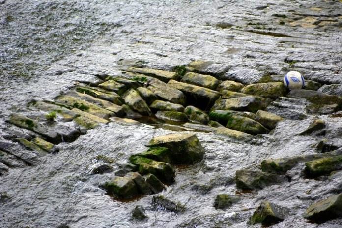 armley mills weir