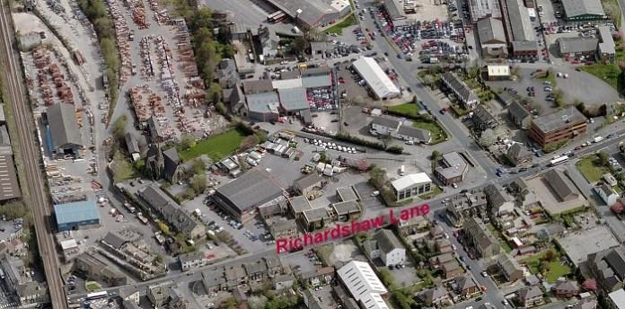 Mark's History: That 'monstrous abortion' – Richardshaw Lane!