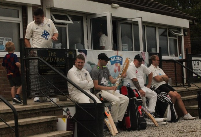 Simon's Snaps: Rodley Cricket Club's first home game since lockdown