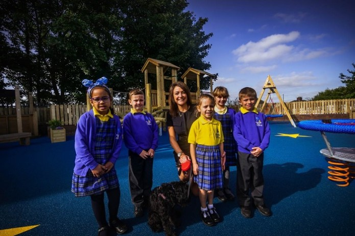 £85k investment transforms school life for Bramley Park pupils