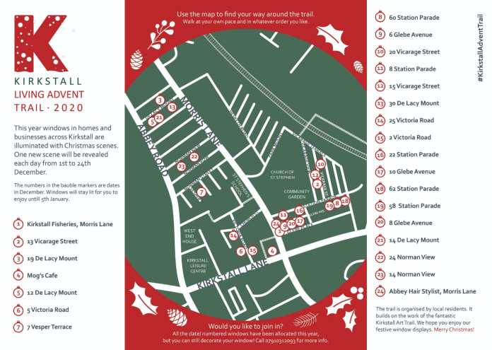 Kirkstall Village set to illuminate with Christmas Advent Trail