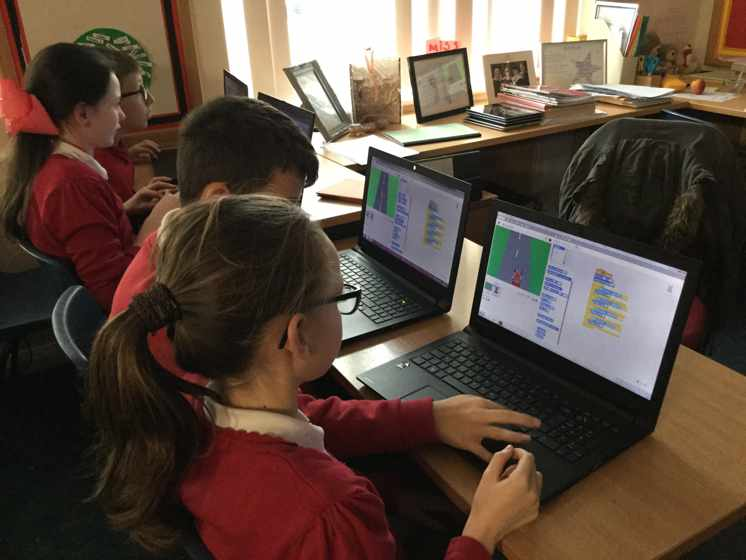Coding on Scratch