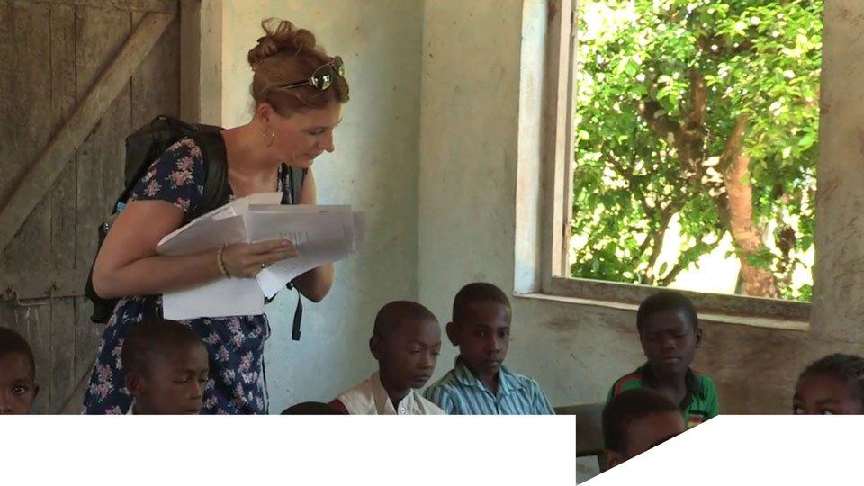 MVO en video: Vinexvrouwtje maakt ver weg dichtbij