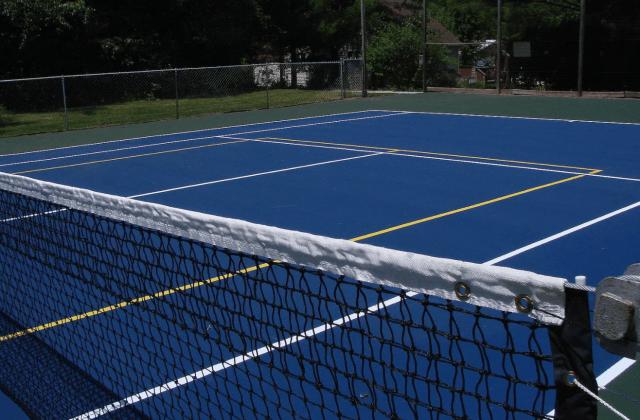 Flora Dale Tennis Court