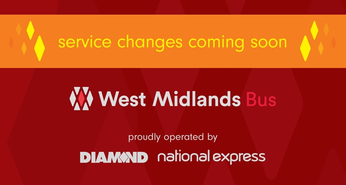 Service Changes 15th March – New WMB partnership route launch