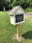 New Little Library:  300 Castle Drive