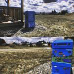 New Little Library:  Kansas Street Playground