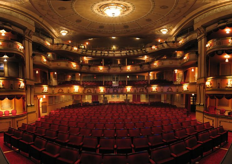 """""""Theatre Royal Brighton"""" by Ian Muttoo from Mississauga, Canada - Theatre Royal Panorama, Brighton, UK. Licensed under CC BY-SA 2.0 via Wikimedia Commons - http://commons.wikimedia.org/wiki/File:Theatre_Royal_Brighton.jpg#mediaviewer/File:Theatre_Royal_Brighton.jpg"""