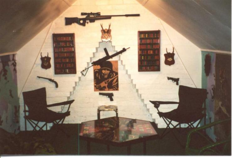 Denis' old gun room