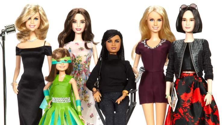 Sheroes Barbie dolls by Mattel - Photo Source