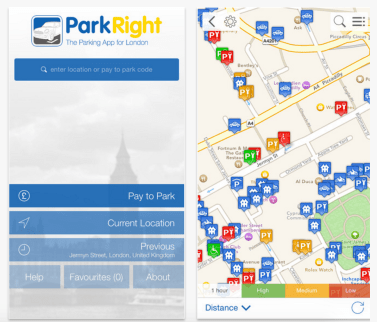 Westminster Parking App - Park Right