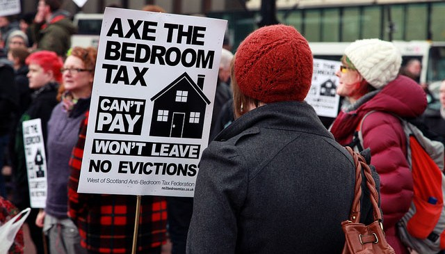 "Court of Appeal rules: Government's bedroom tax ""discriminatory"""