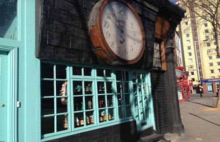 Vivienne Westwood World's End shop. Photo: Shirly Bumaguin