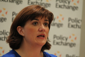 Photo credit: Creative Commons Nicky Morgan, MP for Women and Equalities says Transgender equality has a long way to go.