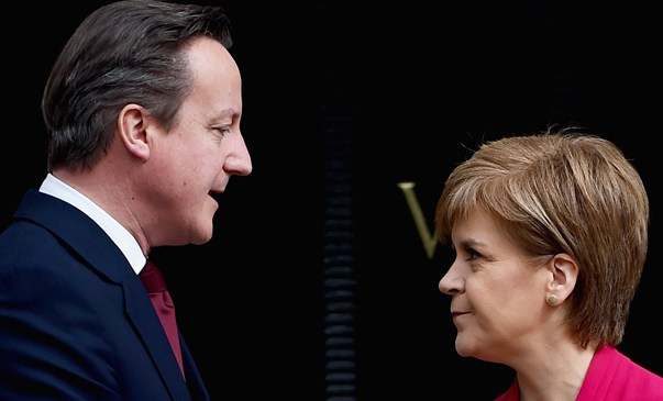 Sturgeon campaigns for the UK to stay in Europe