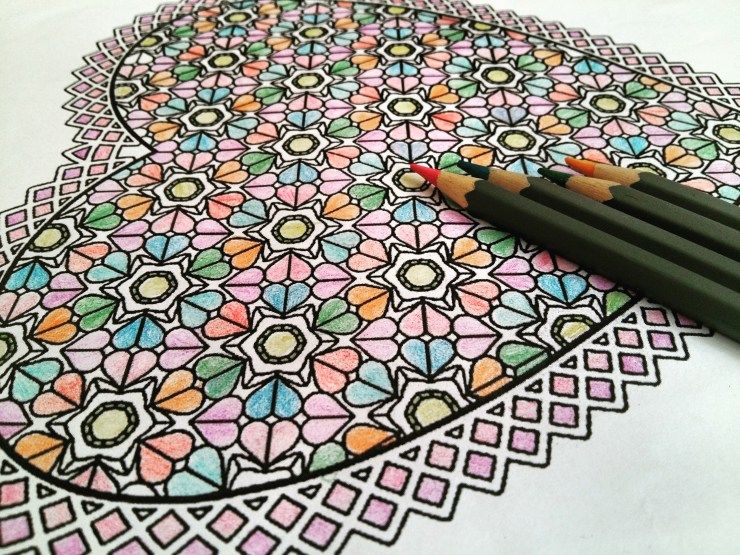 Colouring books have become synonymous with practising 'mindfulness'.