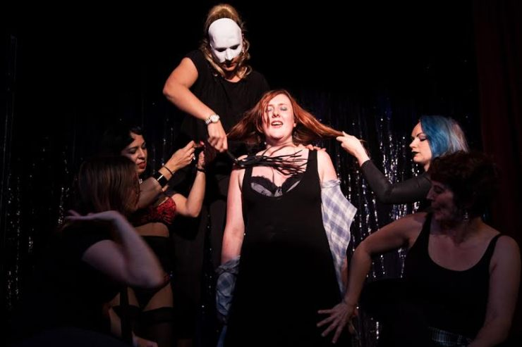 Sex workers performing one of the more unconventional acts. Image by Sex Workers' Opera Press.