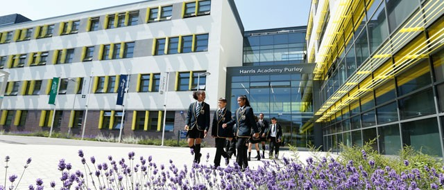 Harris Academy in Purley, Croydon, South London