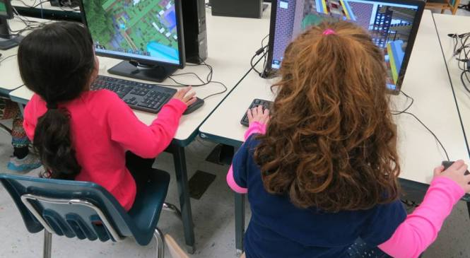 Playing to learn: Minecraft Education and the thriving ed-tech market in the UK