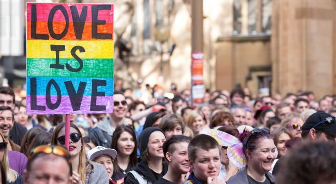 Australia to legalize same sex marriage