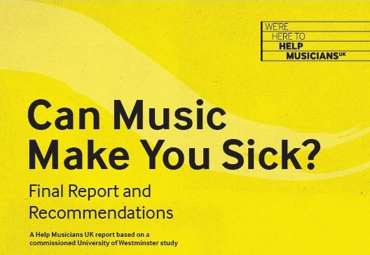 Help Musicians UK's new mental health service includes counseling