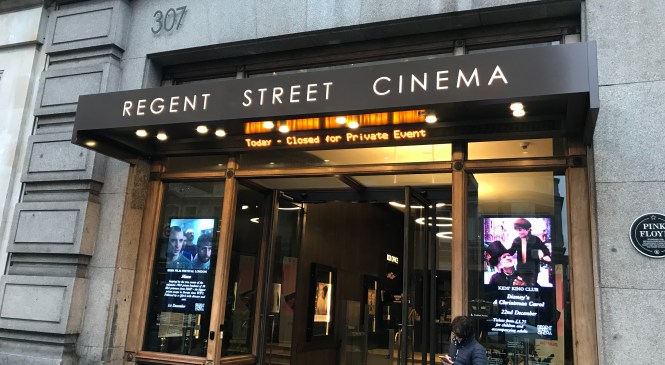 The uniqueness of Regent Street cinema