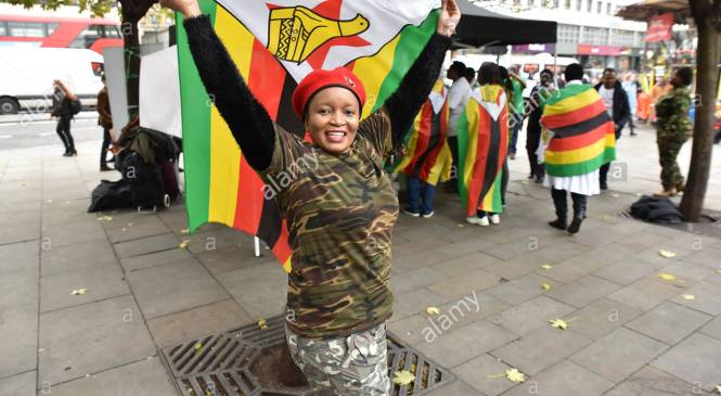 Zimbabweans in London looking forward to new era with optimism