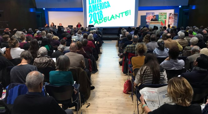 Hundreds gathered in London to express solidarity to Latin America