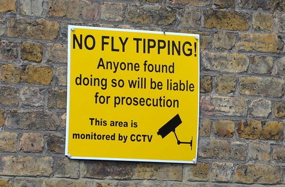 Fly-tipping in England