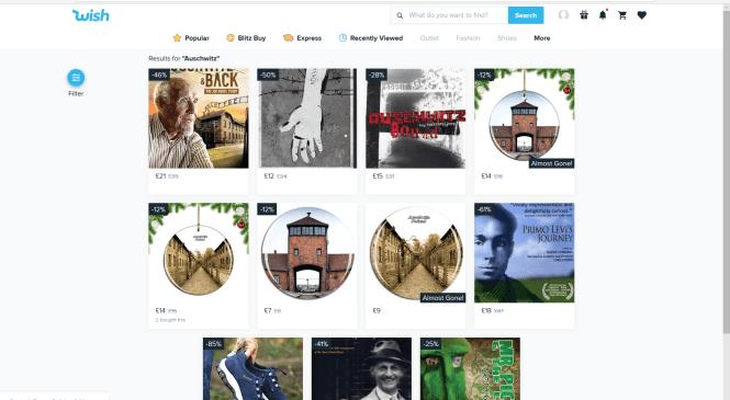 Auschwitz Camp images on Christmas merchandise put Amazon under public pressure