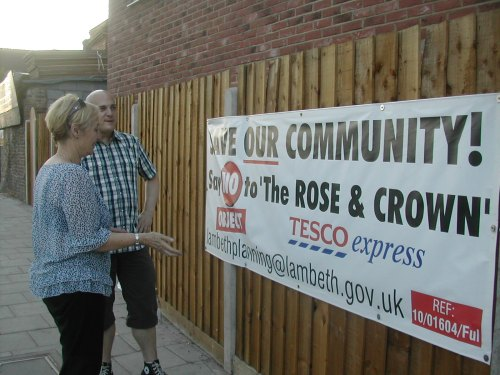 Campaign to oppose Tesco Express