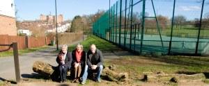Labour Councillors in the Park