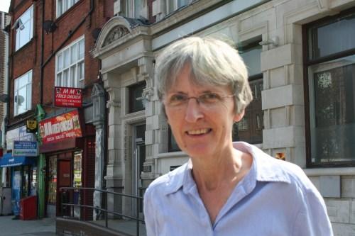 Cllr Jackie Meldrum at 270 Norwood Road