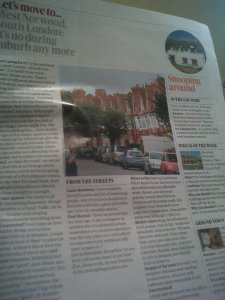 Guardian Weekend 21/9/13